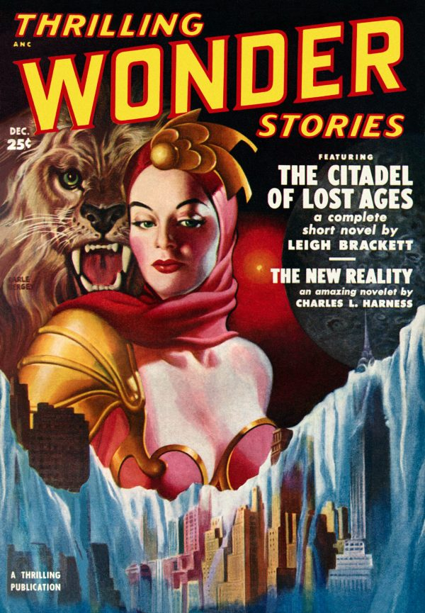 Thrilling Wonder Stories, December 1950