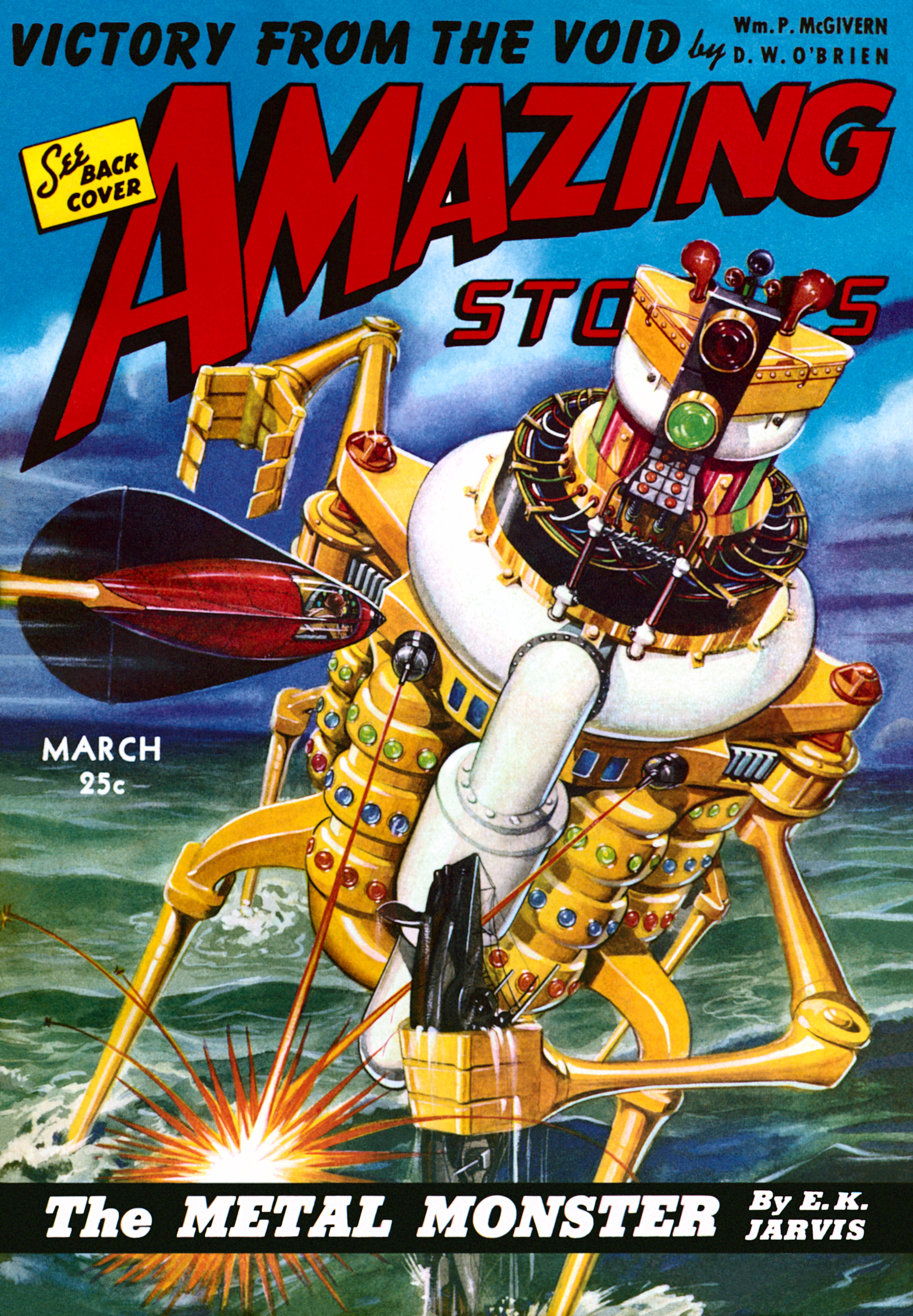 Amazing Stories Volume 21 Number 06: The Metal Monster (Amazing Stories)