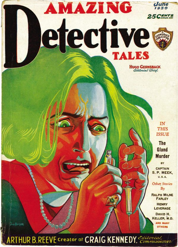 Amazing Detective Tales June 1930