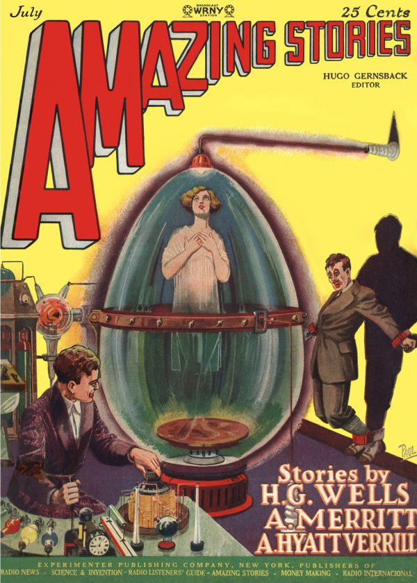 Amazing Stories, July 1927