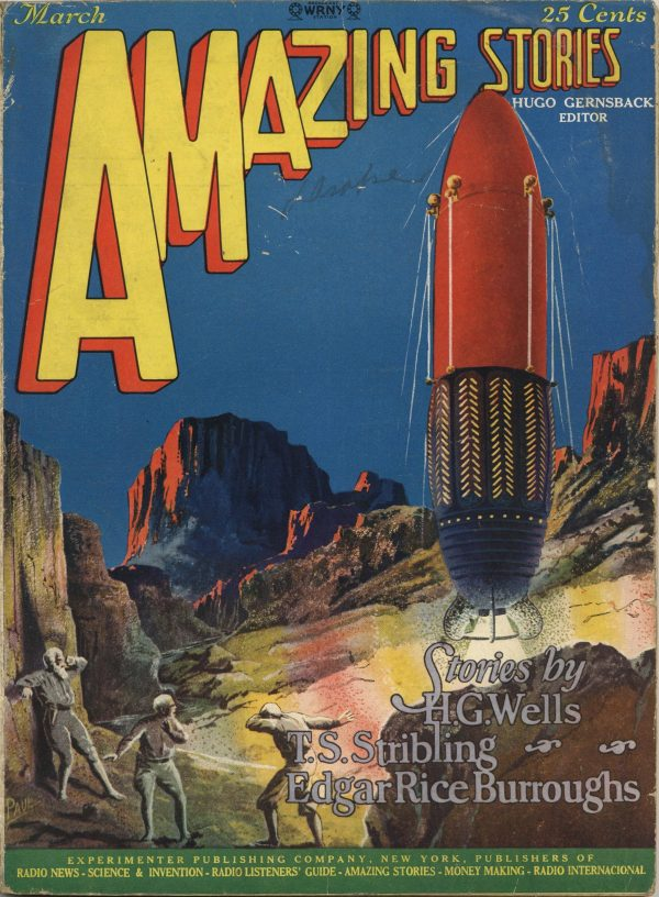 Amazing Stories March 1927