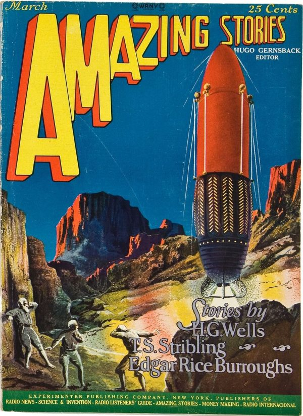 Amazing Stories, March 1927