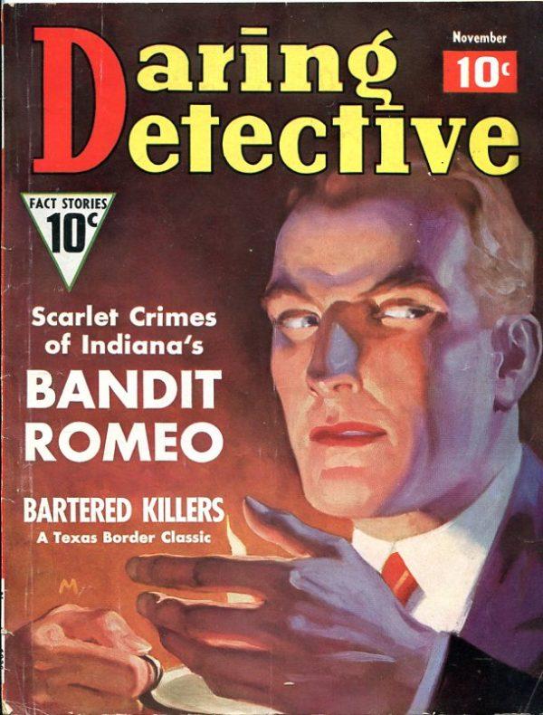 Daring Detective November 1936