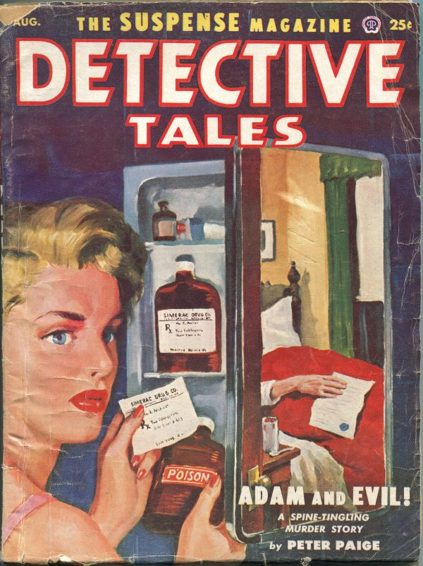 Detective Tales August 1953
