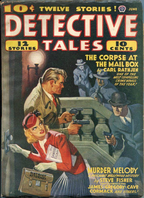 Detective Tales June 1941