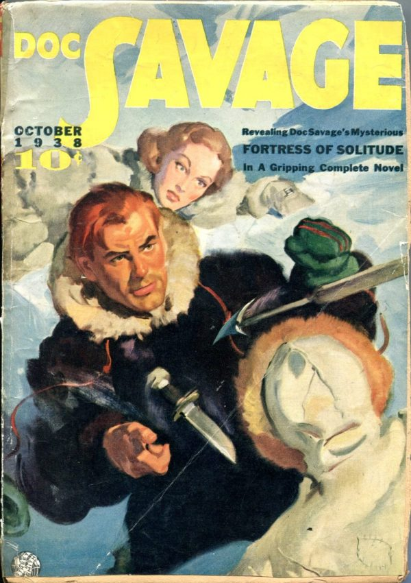 Doc Savage October 1938