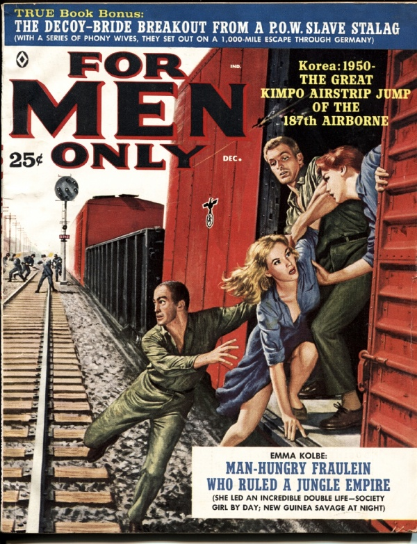 For Men Only December 1960
