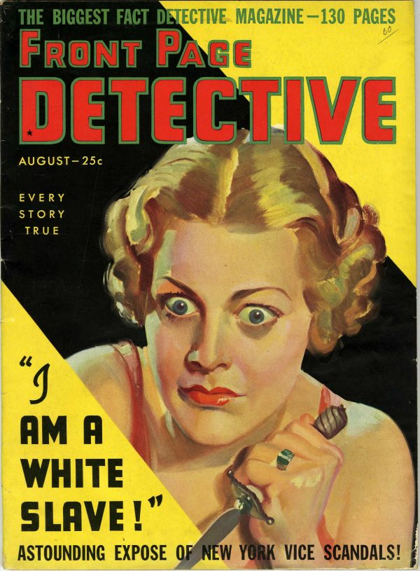 Front Page Detective August 1936