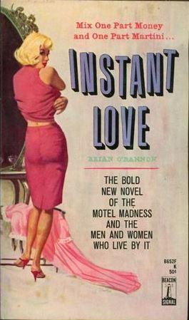 Instant Love by Brian O'Bannon, Beacon Books, 1963