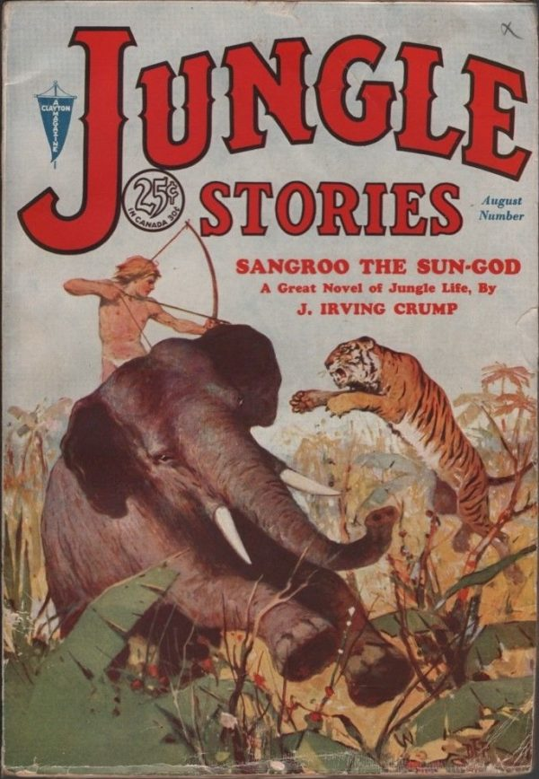 Jungle Stories (Clayton) 1931 August