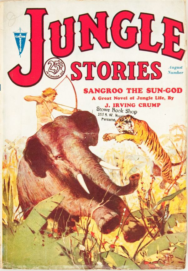 Jungle Stories V1#1 August 1931