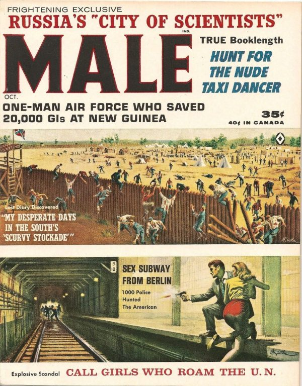 MALE magazine October 1963