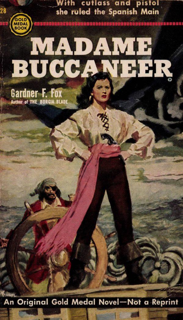 Madame Buccaneer Gardner F Fox front cover