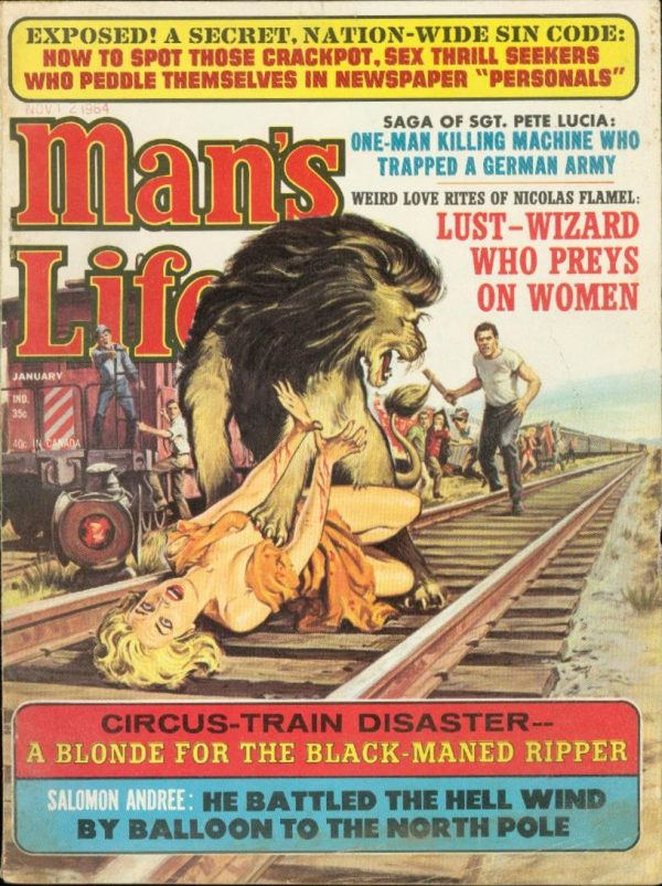 Man's Life January 1965