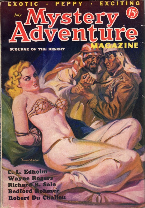 Mystery Adventure Magazine July 1936