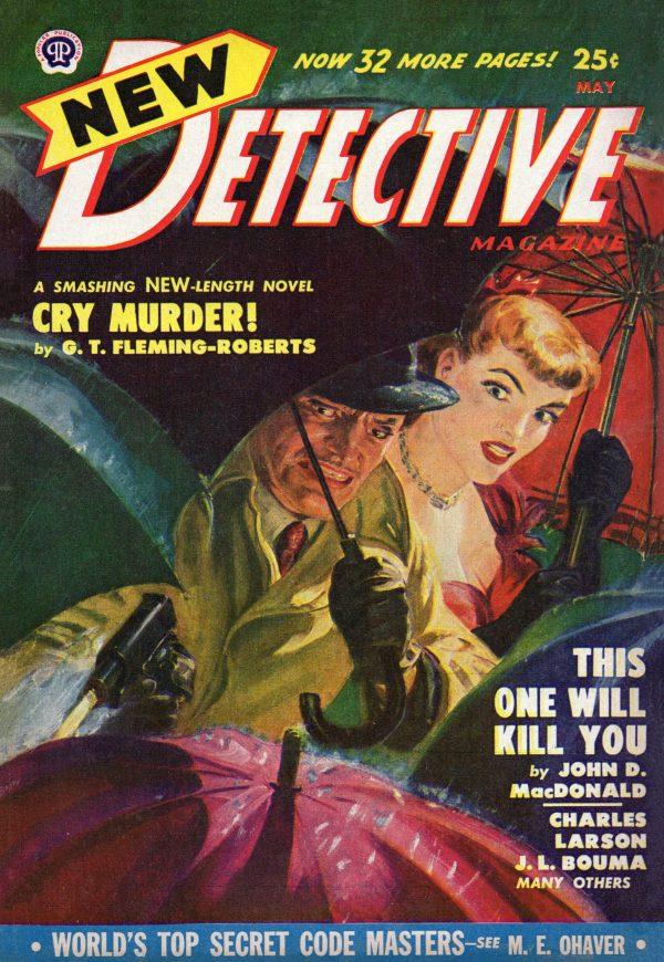 New Detective Magazine May 1950