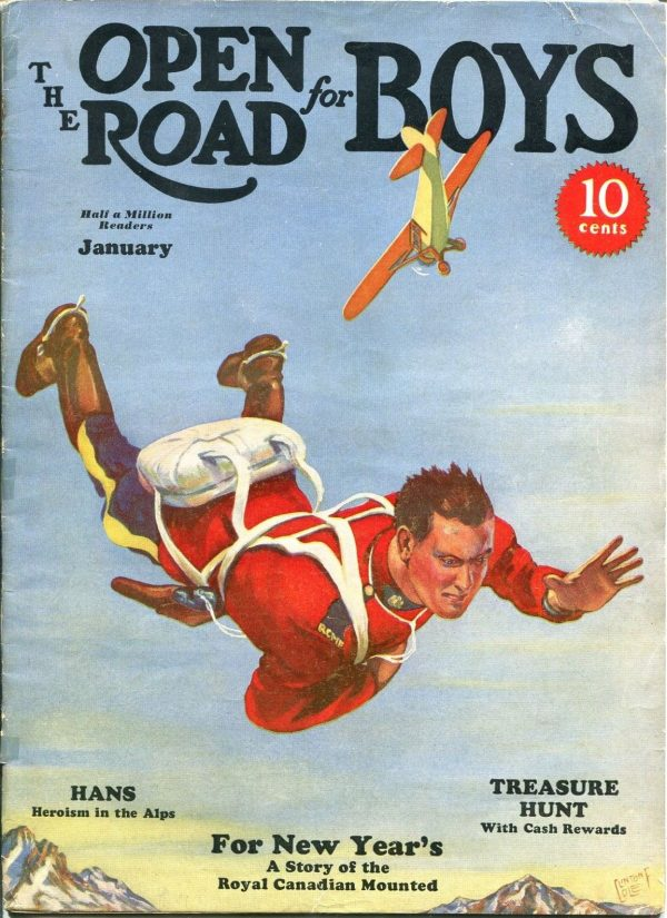 Open Road For Boys January 1936