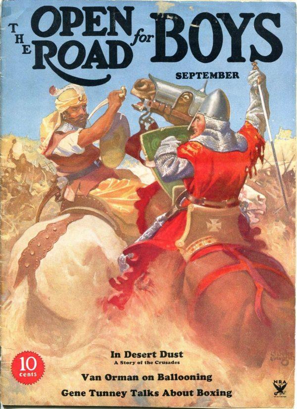 Open Road For Boys September 1934