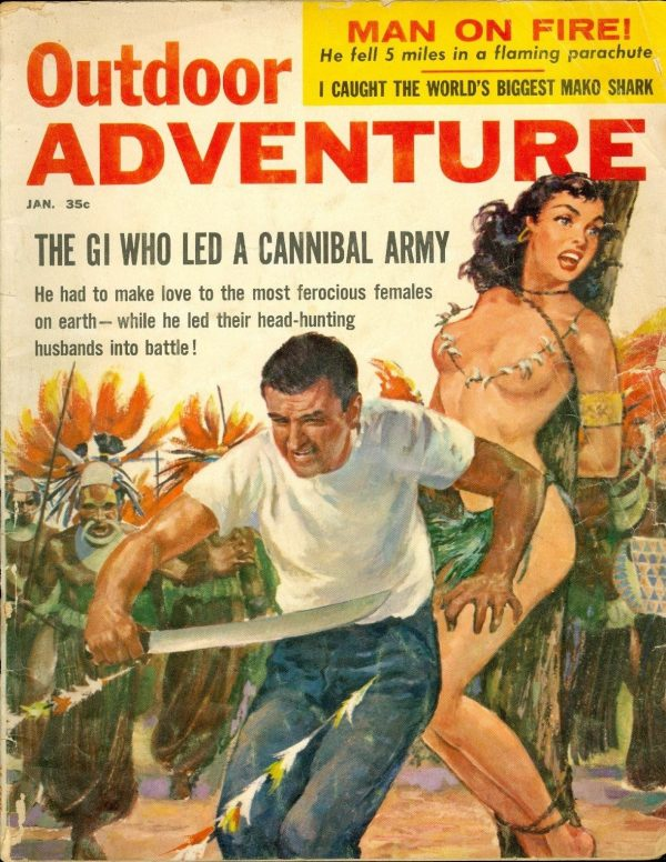 Outdoor Adventure, January 1959