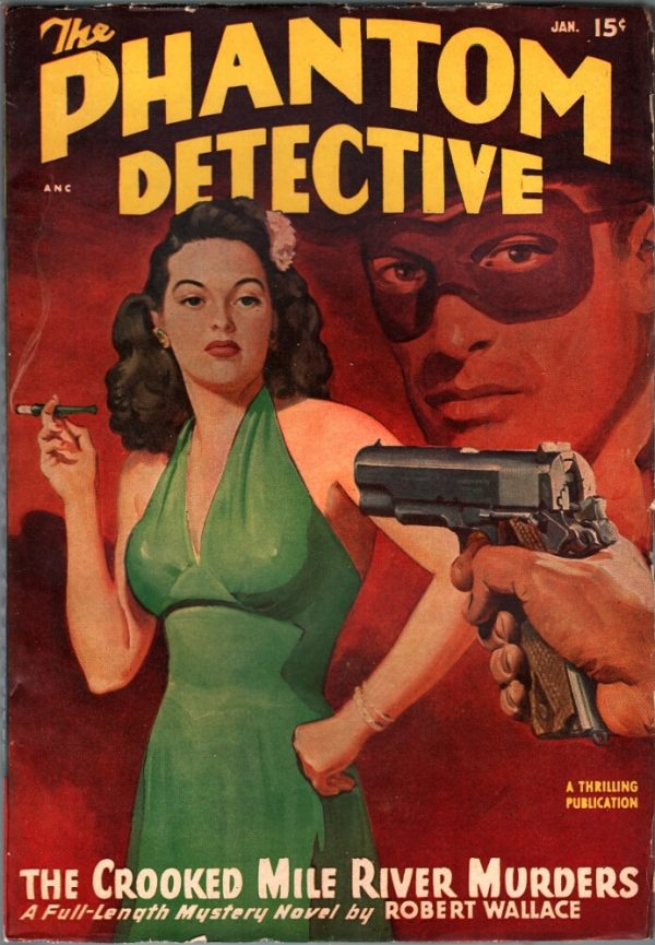 Phantom Detective January 1948