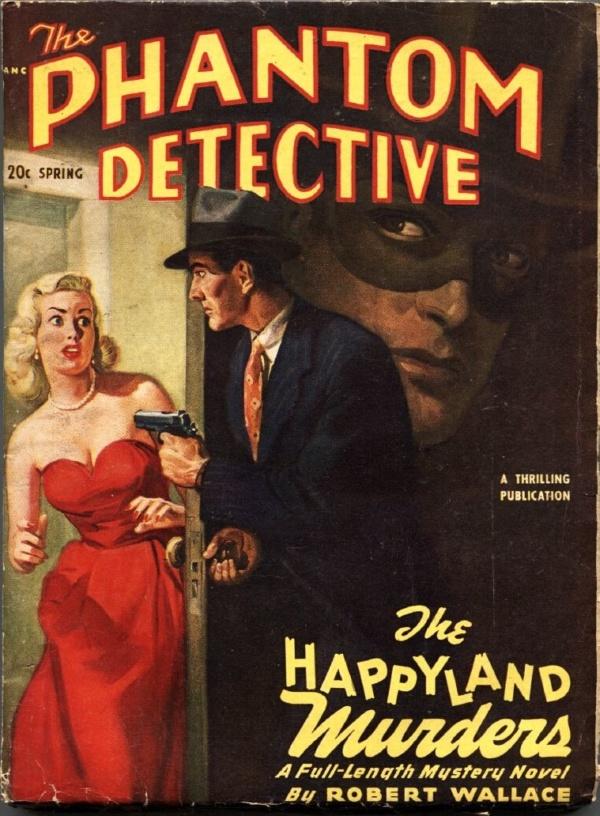 Phantom Detective Spring 1950