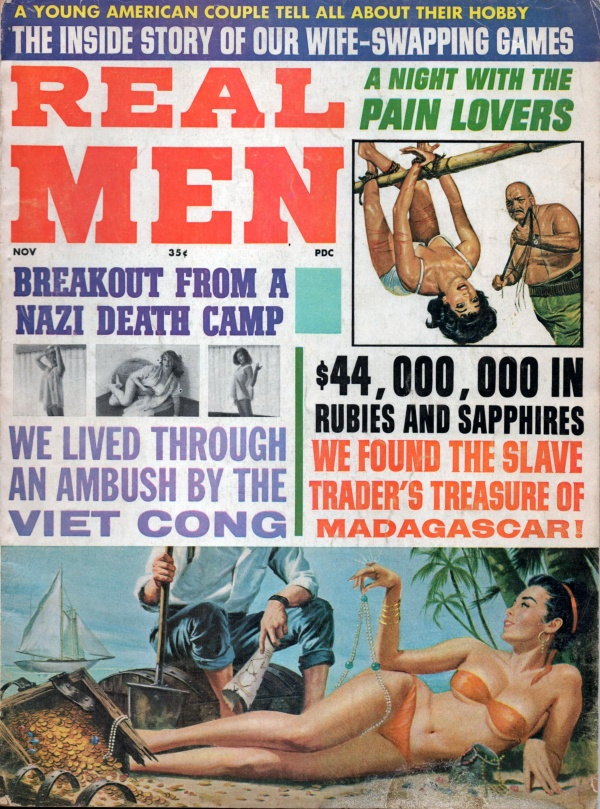 REAL MEN November 1965 9-8