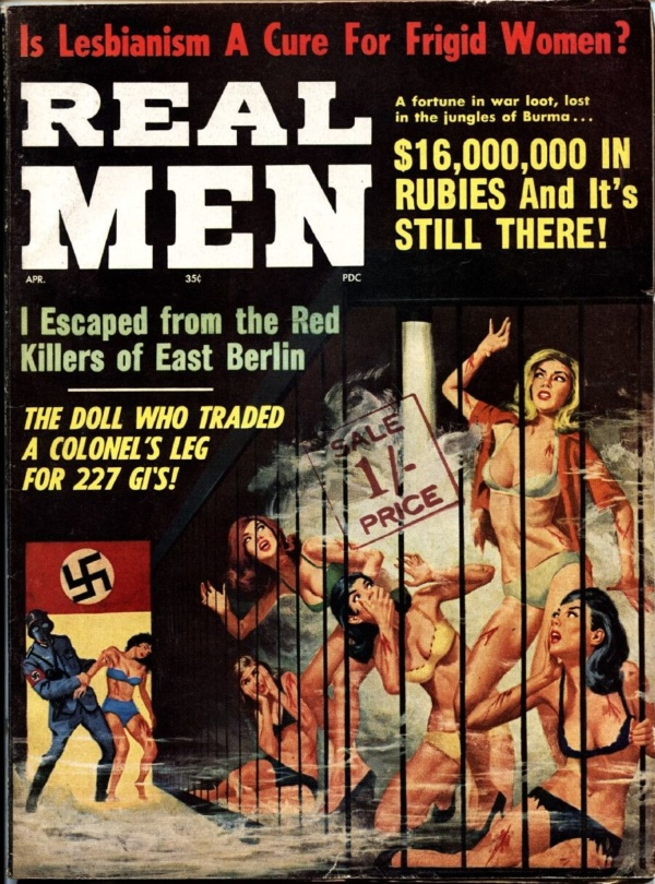 Real Men April 1964