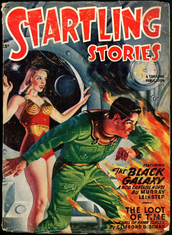 STARTLING STORIES. March, 1949