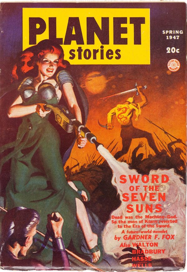 Spring 1947 Planet Stories