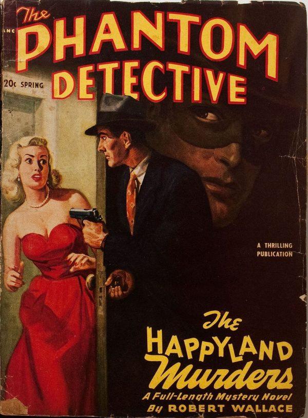 Spring 1950 Phantom Detective