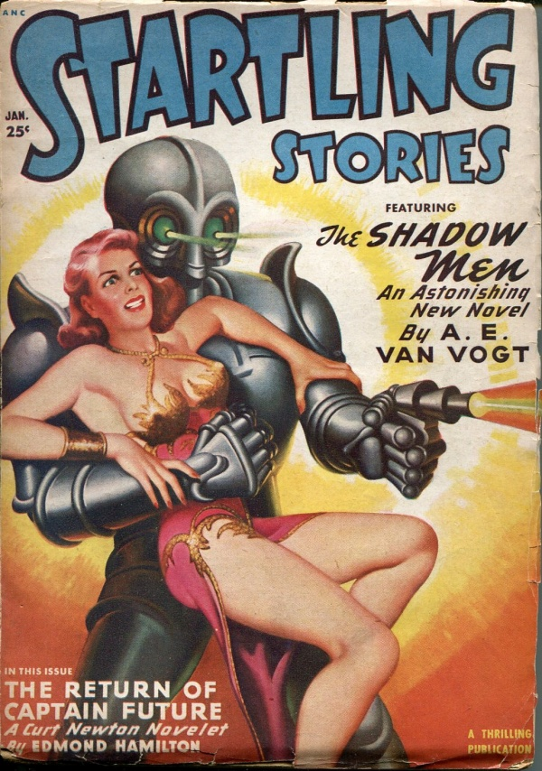 Startling Stories January 1950