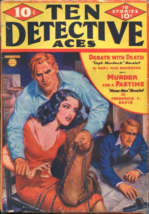 Ten Detective Aces November 1936