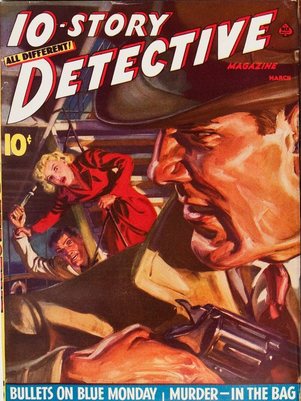 Ten-Story Detective Magazine March 1941