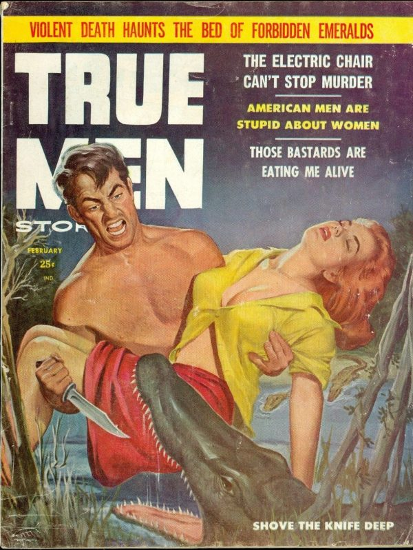 True Men Stories, February 1958