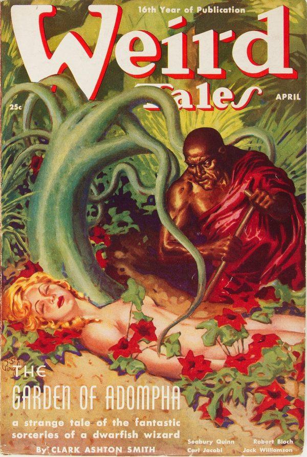 Weird Tales - April 1938