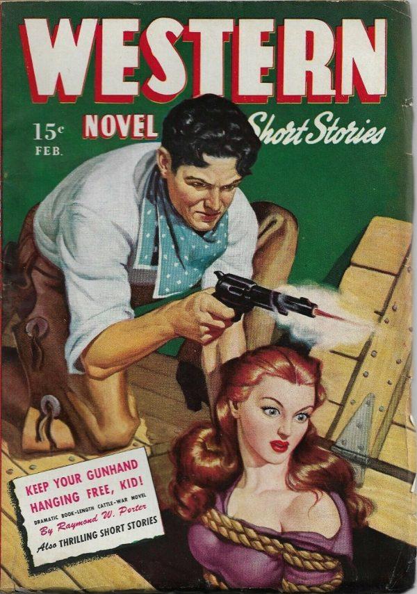 Western Novel & Short Stories February 1946