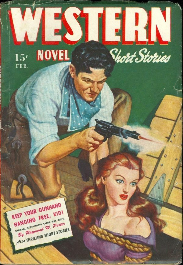 Western Novel and Short Stories, February 1946