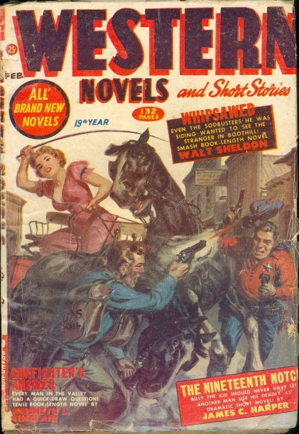 Western Novels and Short Stories, February 1953