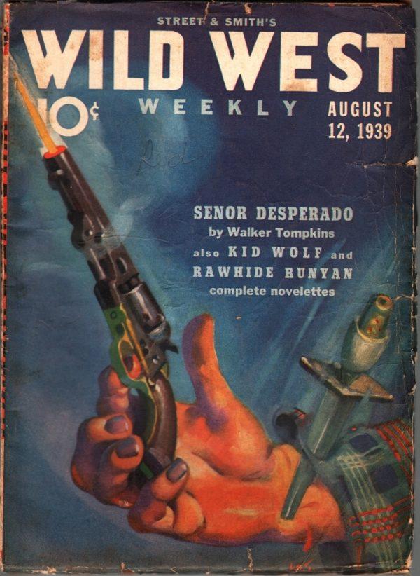 Wild West Weekly August 12 1939