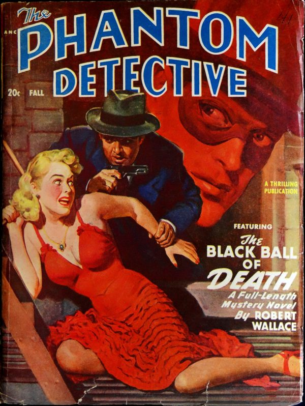 Phantom Detective Vol. 54, No. 1 (Fall 1949).