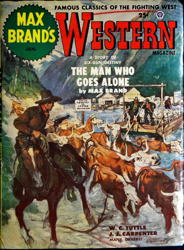 Max Brand's Western Vol. 8, No. 2 (Jan., 1954).