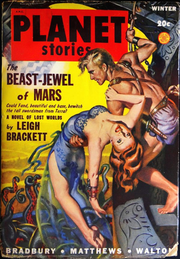 Planet Stories Vol. 4, No. 1 (Winter 1948). Cover by Allen Anderson
