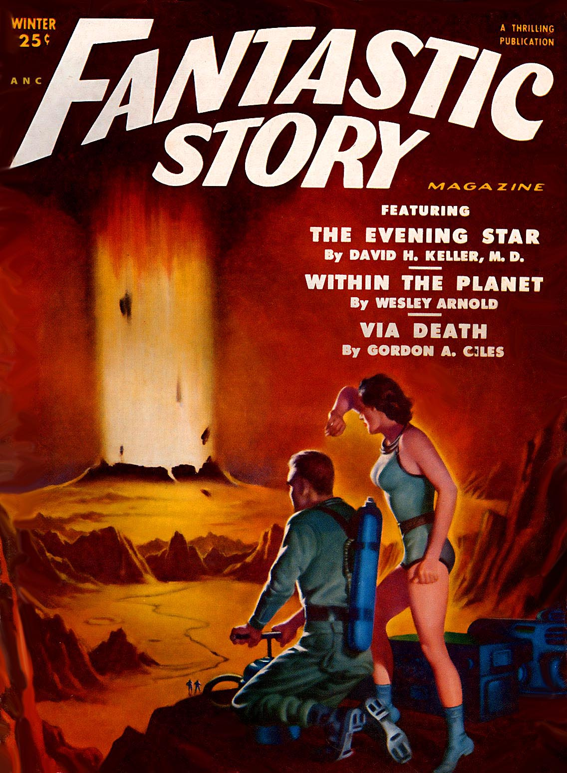 Fantastic Story Magazine 1950 Pulp Comic Books: The Best Of The Worst