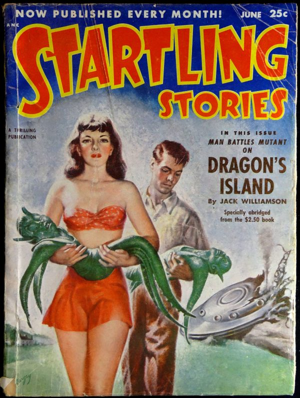 Startling Stories Vol. 26, No. 2 (June, 1952). Cover by Earle Bergey
