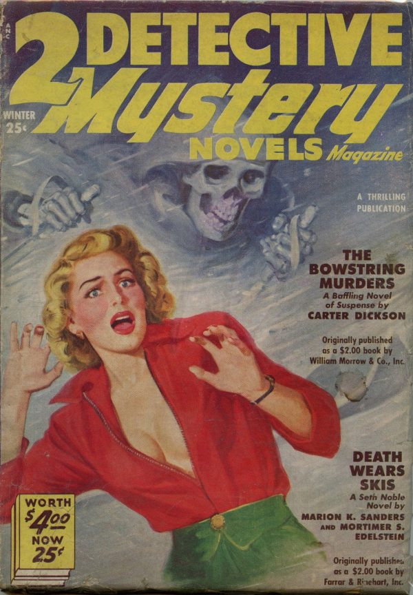 2 Detective Mystery Novels Magazine - Winter 1951
