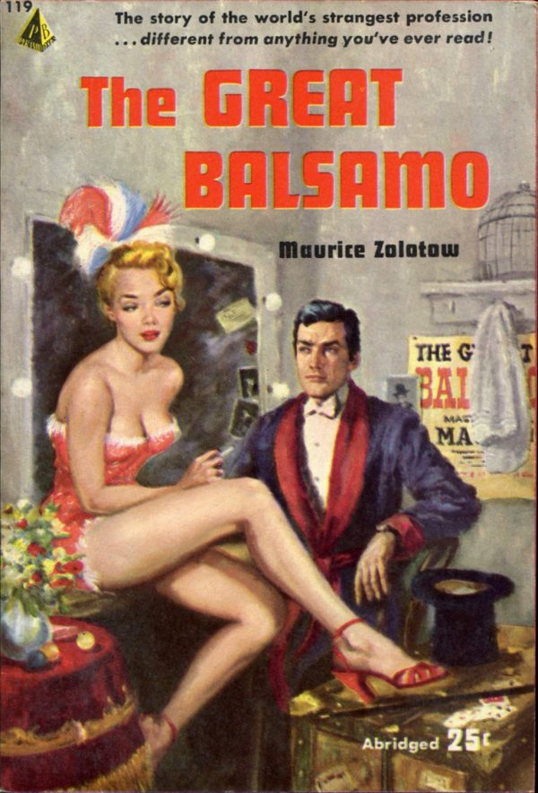 47065681372-Maurice Zolotow. The Great Balsamo [Brooklyn Youngster]. Pyramid, 1954.