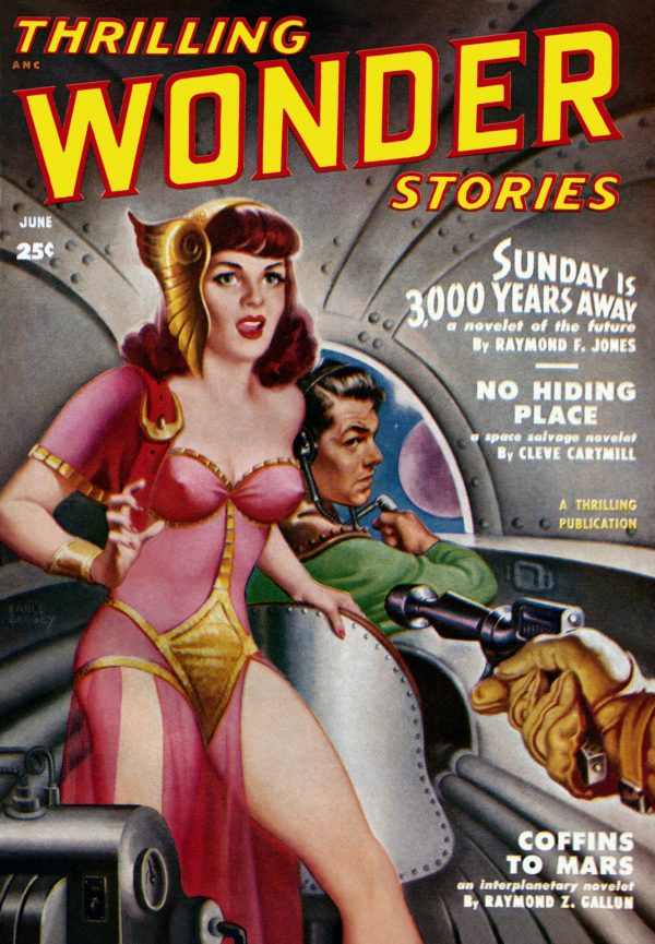 Thrilling Wonder Stories June, 1950
