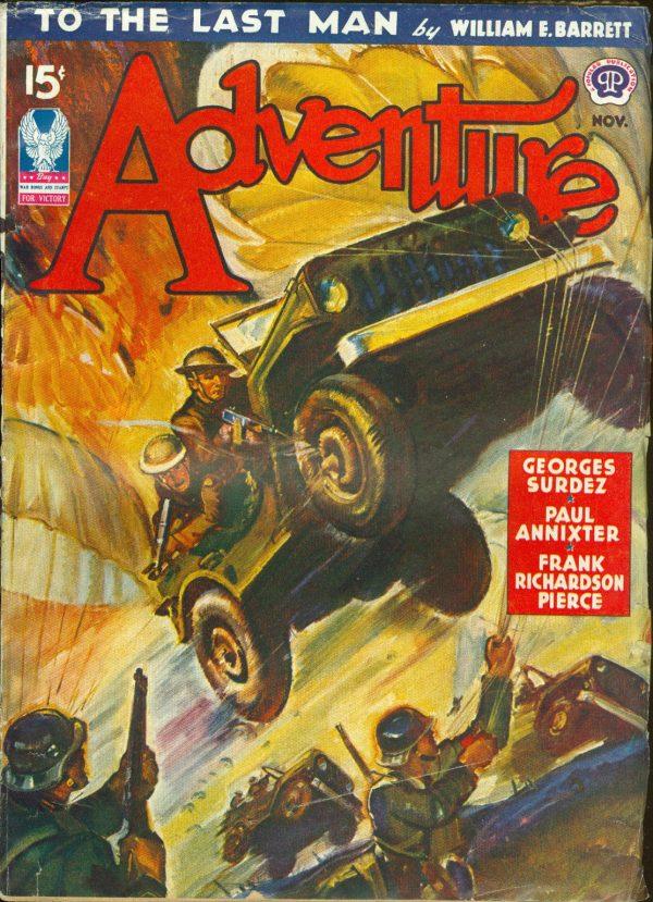 Adventure, November 1942