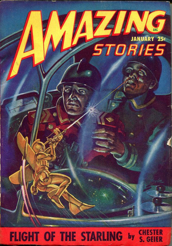 Amazing Stories January, 1948