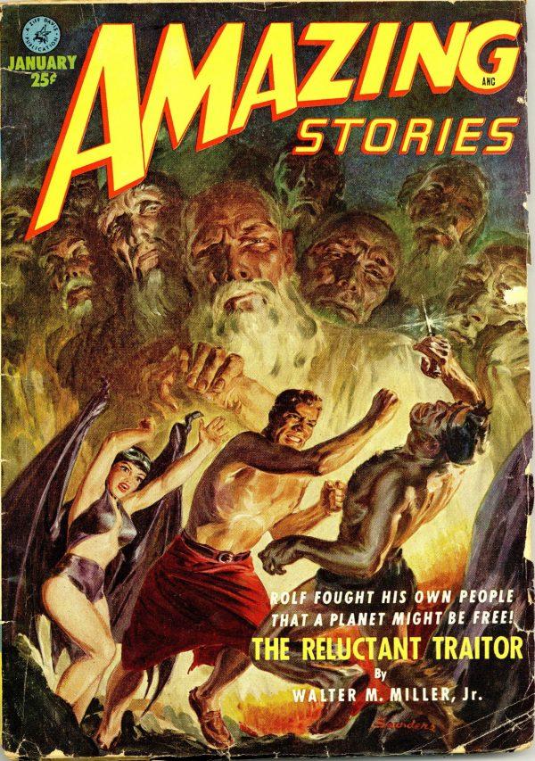 Amazing Stories January 1952